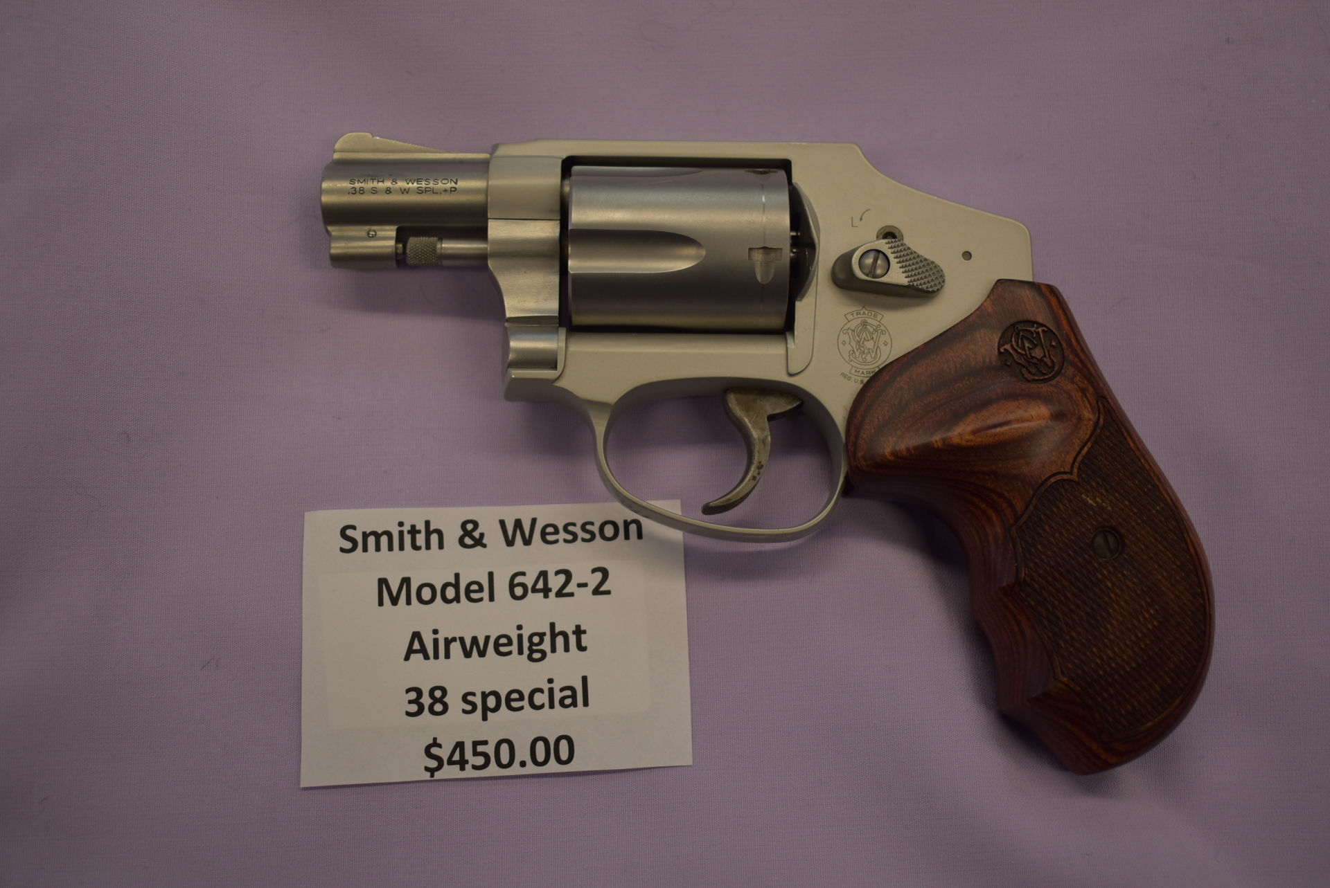 Smith & Wesson 642-2 Airweight