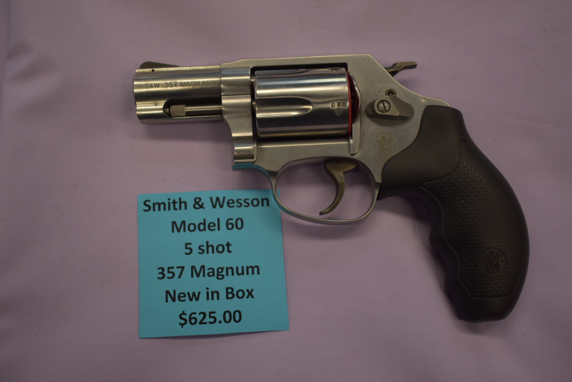 NEW Smith & Wesson Model 60 5 Shot