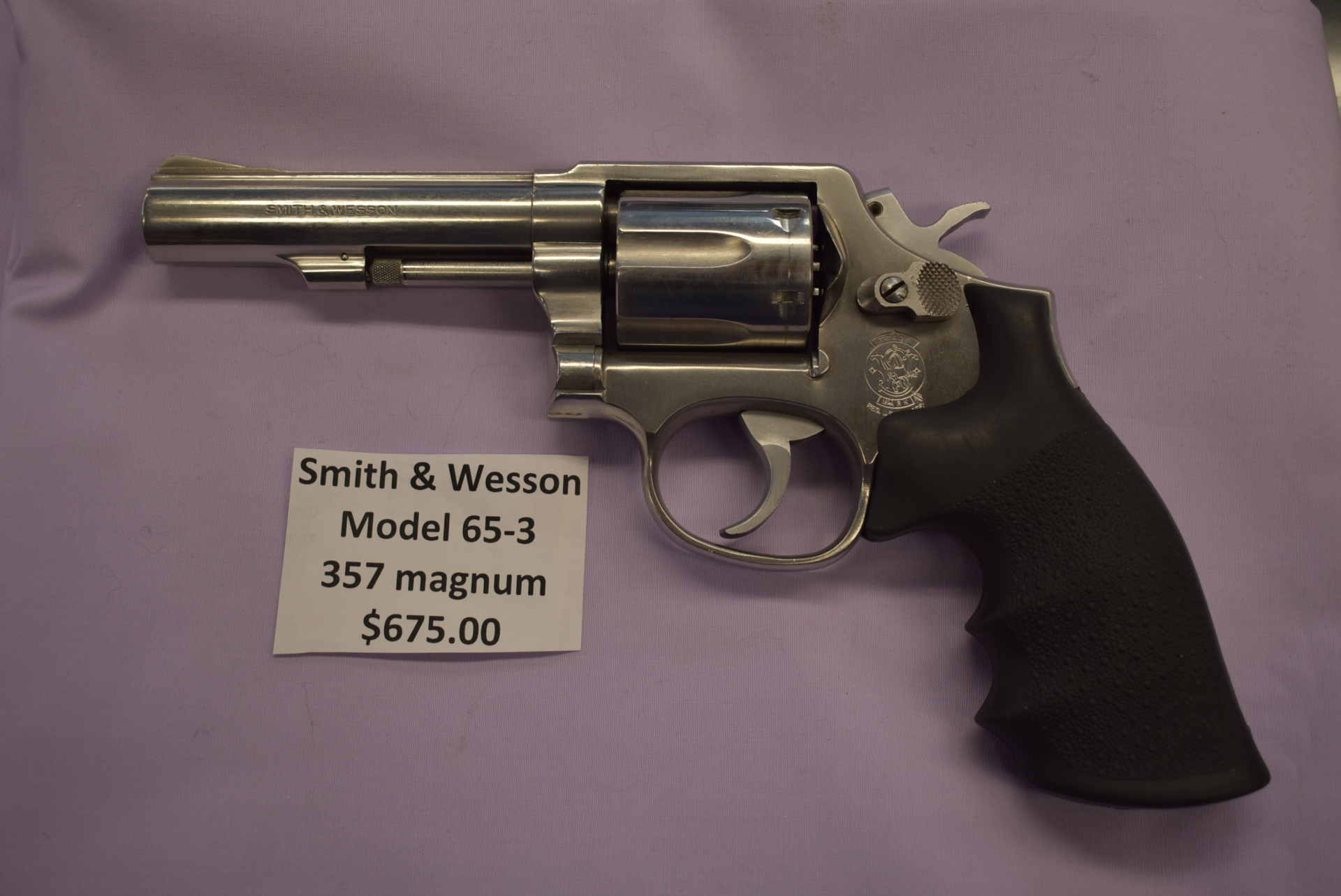 Smith & Wesson Model 65-3