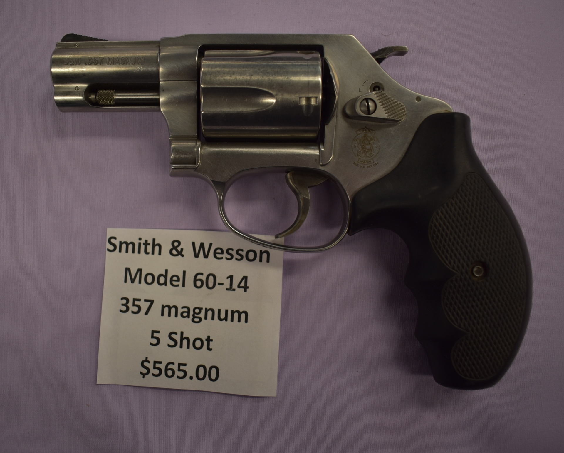 Smith & Wesson model 60-14