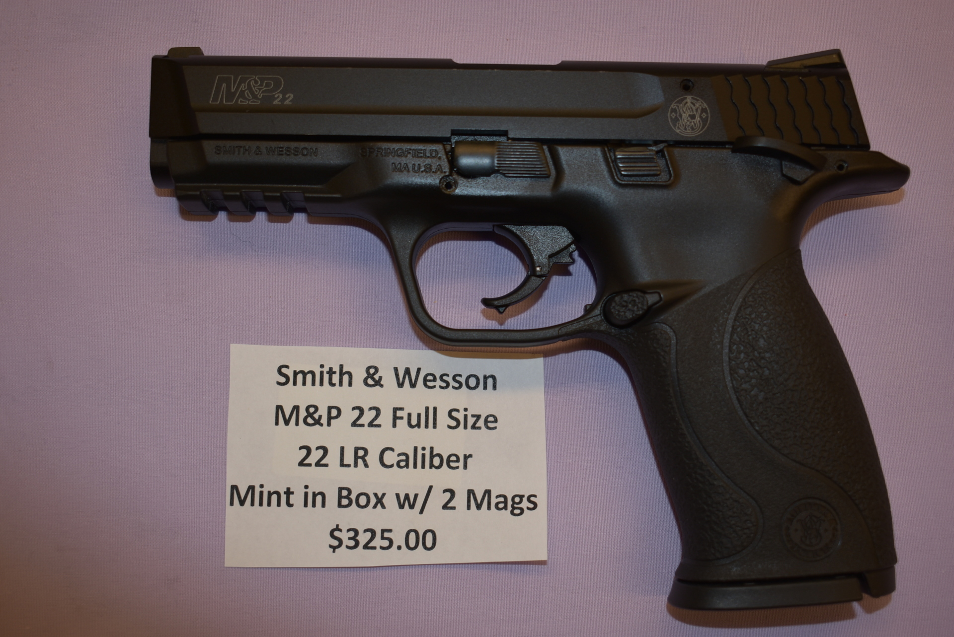 Smith & Wesson M&P 22 Full Size