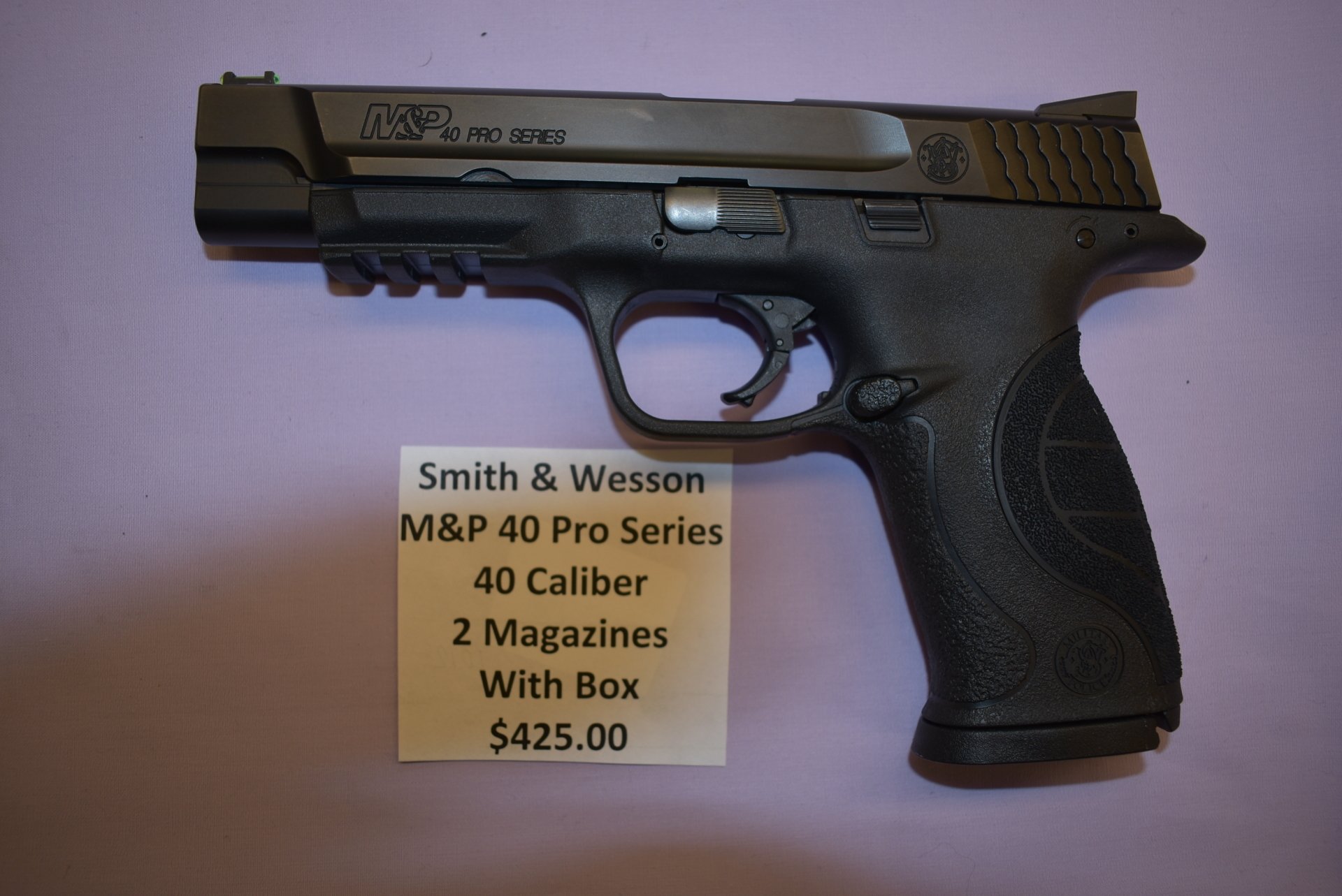 Smith & Wesson M&P 40 Pro Series