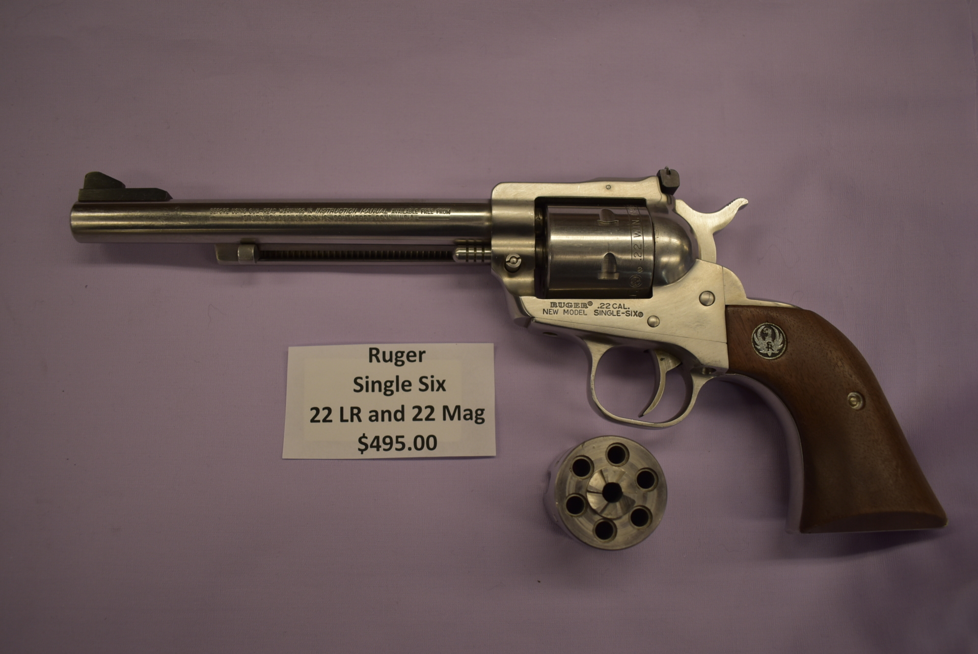 Ruger Single Six Convertable