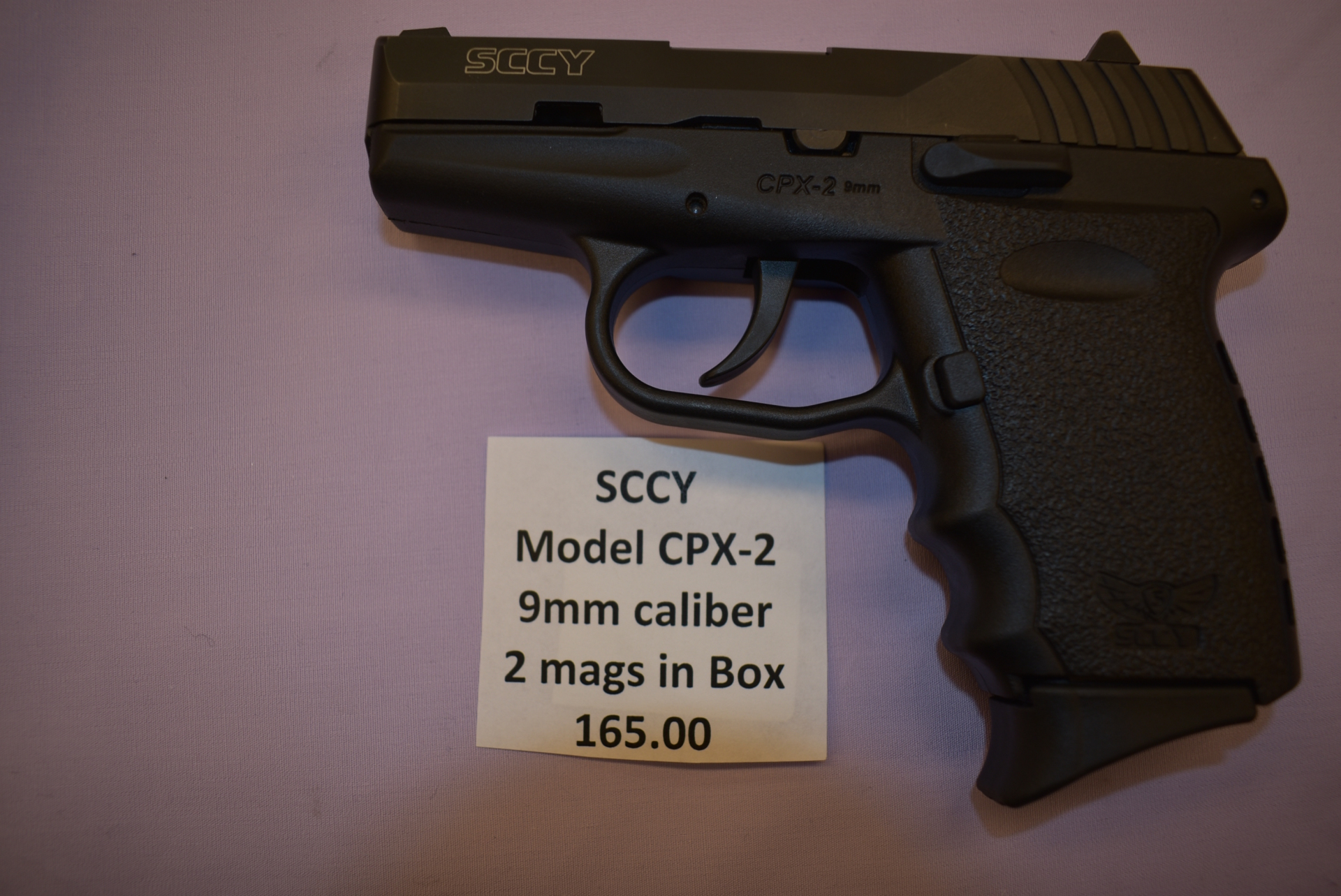 SCCY Model CPX-2